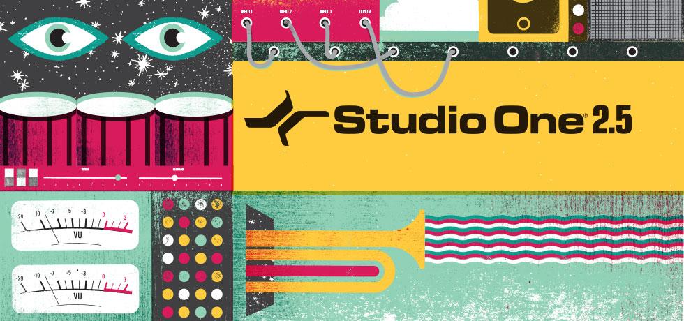 Presonus releases Studio One v2.5