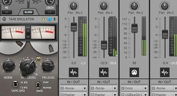 SONAR X3 Tape Emulator