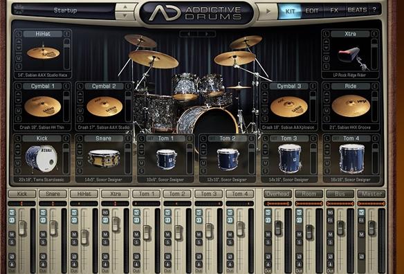 addictive drums SONAR